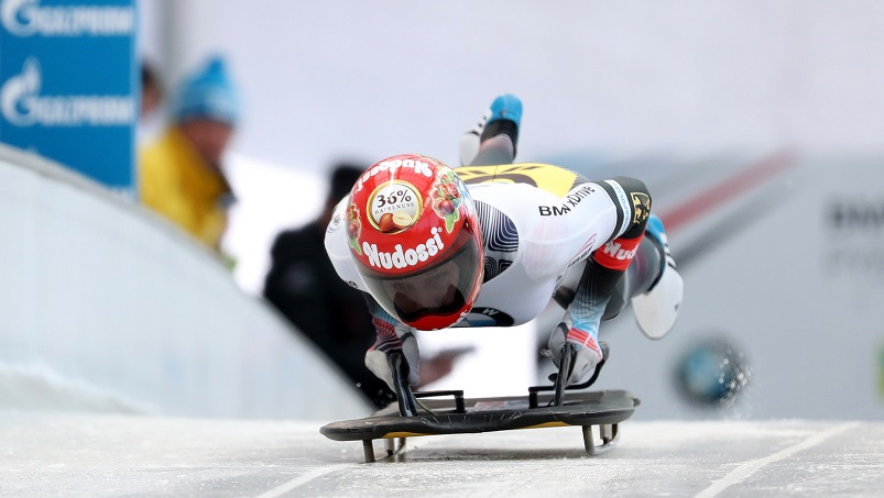 Lizzy Yarnold i Laura Dees