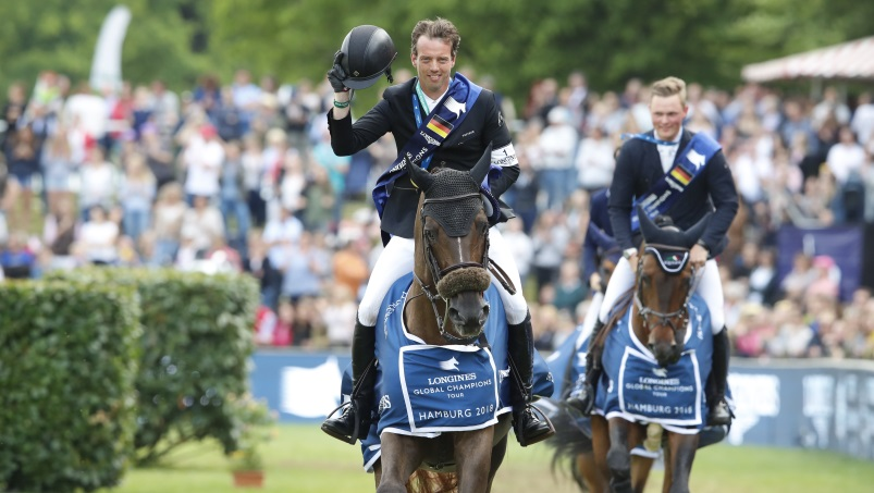 Longines Global Champions Tour 2018 w Hamburgu