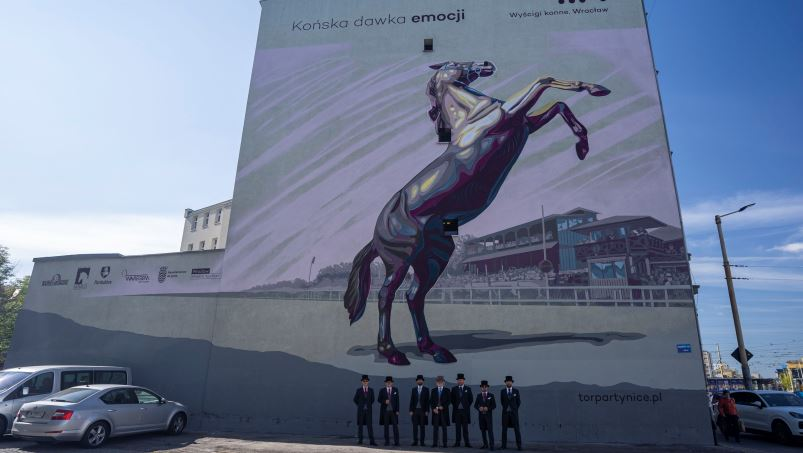 mural partynice wroclaw
